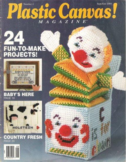 Plastic Canvas Magazine Number 4 Sept/Oct 1989 #2PCSC