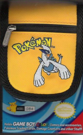 Yellow Nintendo Pokemon Gameboy Color Travel Case