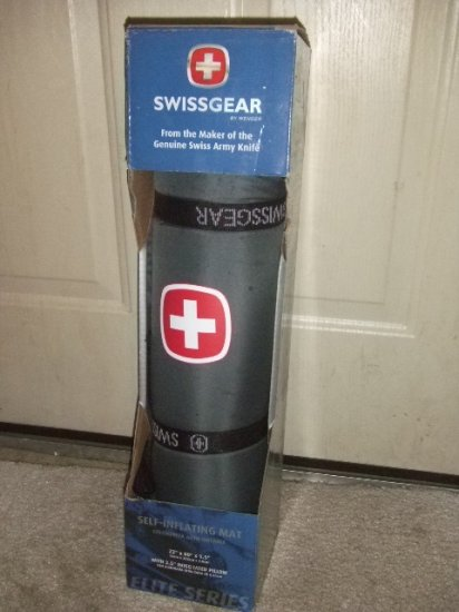 Swiss Gear Self-Inflating Mat Maker of the Genuine Swiss Army Knife