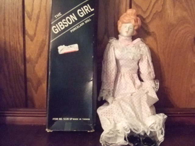 "15"" Gibson Girl Doll Item Number 5128"