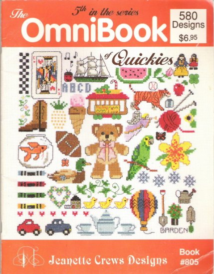 The OmniBook 5th in the Series Book 805 - 580 Designs