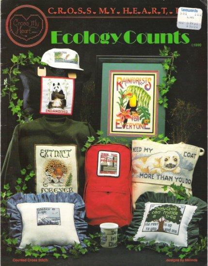 Cross My Heart Ecology Counts Cross Stitch Craft Book