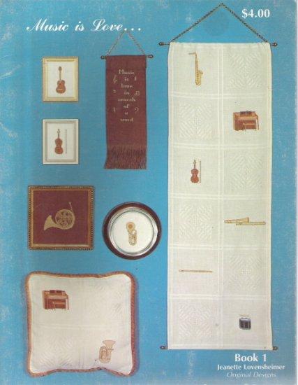 Music is Love Book 1 Jeanette Lovensheimer Original Designs