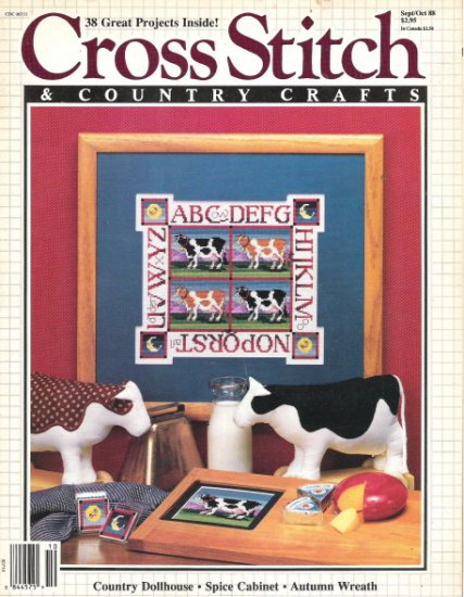 Cross Stitch & Country Crafts Magazine September/October 1988