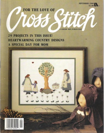 For the Love of Cross Stitch Magazine September 1988
