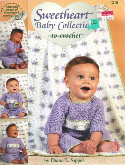 Sweetheart Baby Collection to Crochet