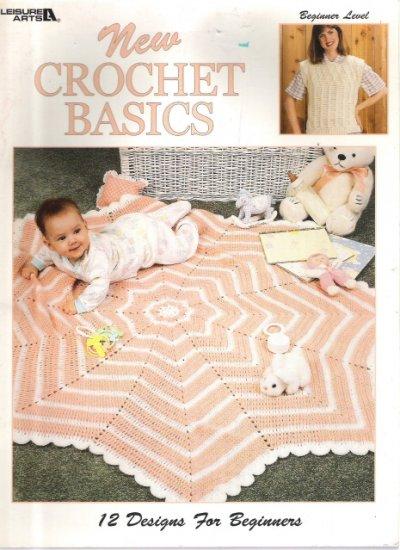 Leisure Arts New Crochet Basics For Beginners