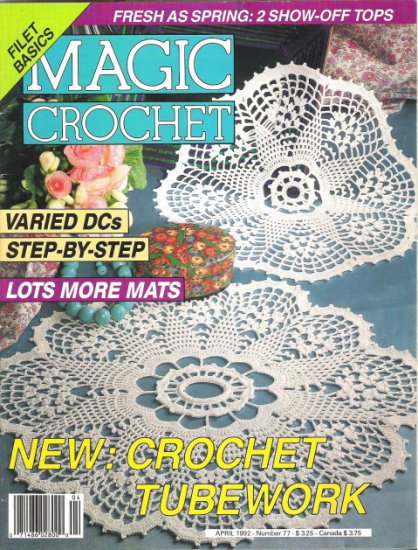 Magic Crochet Magazine April 1992