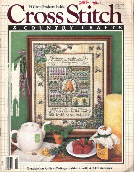 Cross Stitch & Country Crafts Magazine May/June 1987