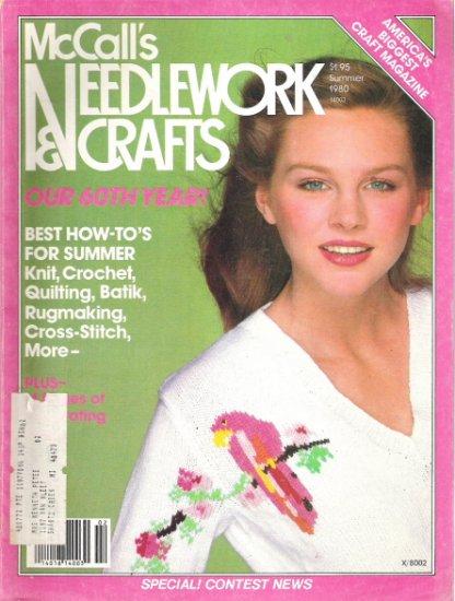 McCall's Needlework and Crafts Magazine Summer 1980