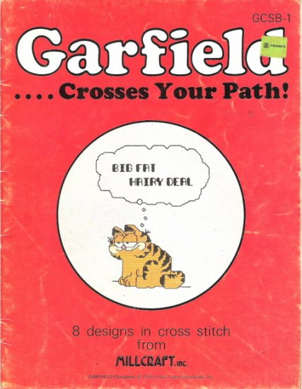 Garfield Crosses your Path Craft Book