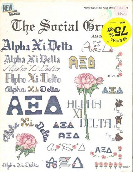 Creative Keepsakes presents The Social Creed Alpha Xi Delta