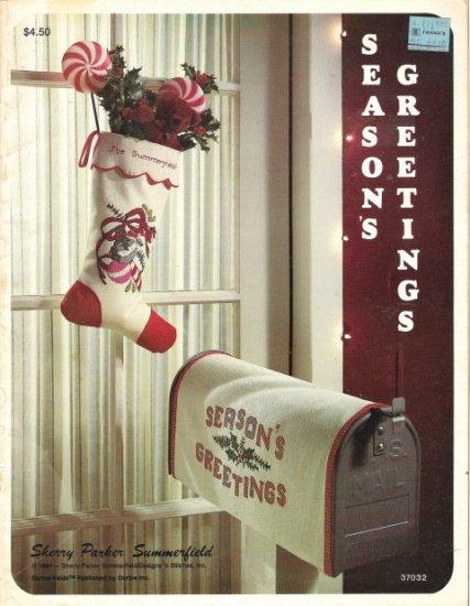 Season's Greetings By Sherry Parker Summerfield #37032
