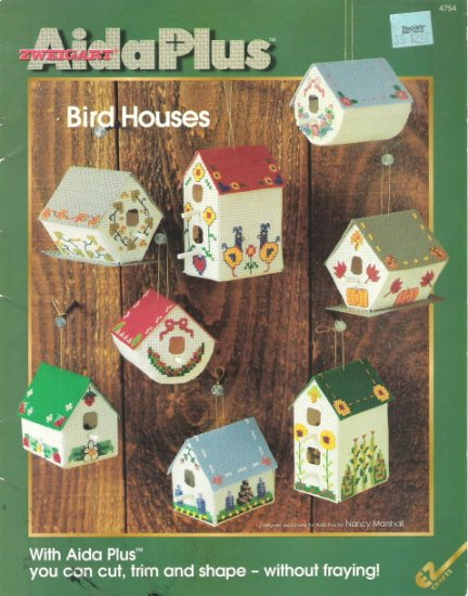 Zweigart Aida Plus Bird Houses
