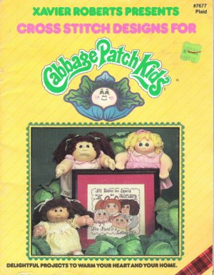 Xavier Roberts Presents Cabbage Patch Kids Cross Stitch Designs and Project Ideas #7677
