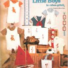Little Boys in Counted Cross Stitch Designs by Macon Epps