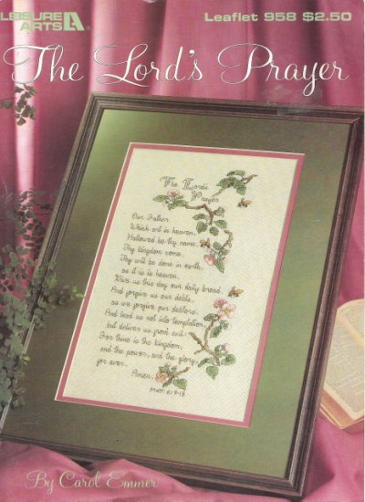Leisure Arts Leaflet 958 The Lord's Prayer