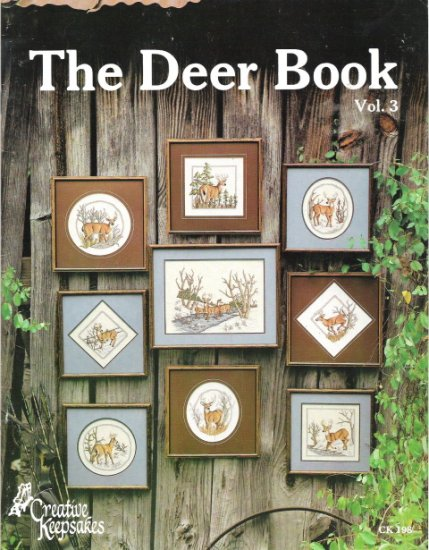 The Deer Book Volume 3 Counted Cross Stitch Book