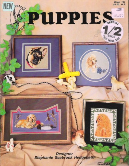 Puppies a Pegasus Publication Designed by Stephanie Hedgepath
