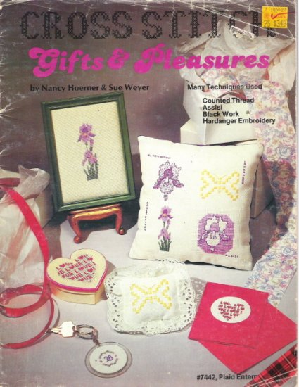Gifts & Pleasures Cross Stitch Book