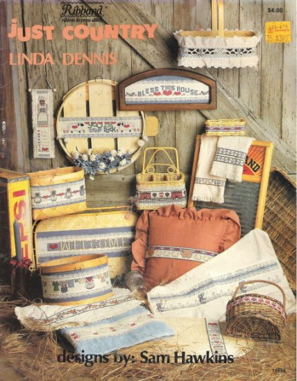 Just Country Linda Dennis Cross Stitch Book