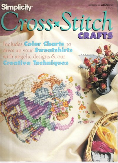 Simplicity Cross Stitch Crafts #3778