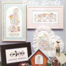 American School of Needlework #3566 Cross Stitch Baby Birds by Kinda Gillum