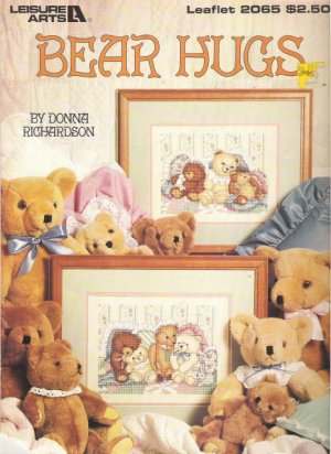 Leisure Arts Leaflet 2065 Bear Hugs by Donna Richardson