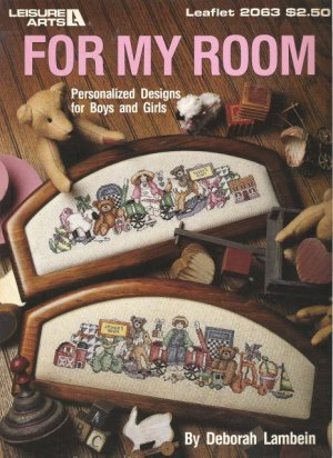 Leisure Arts Leaflet #2063 For My Room by Deborah Lambein