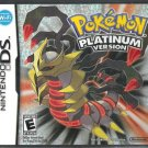 Nintendo DS Pokemon Platinum Version