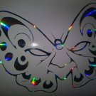 Holographic Butterfly Drama Mask Vinyl Car Window Decal Sticker