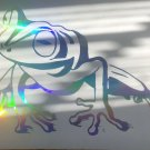 Custom Holographic Frog Toad Tree Frog Vinyl Car Window Decal Sticker