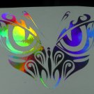 Holographic Fantastic Butterfly Eyes Vinyl Car Window Decal Sticker