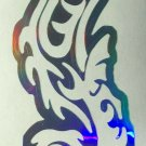 Custom Holographic Tribal Nautical Seahorse Vinyl Car Window Decal Sticker