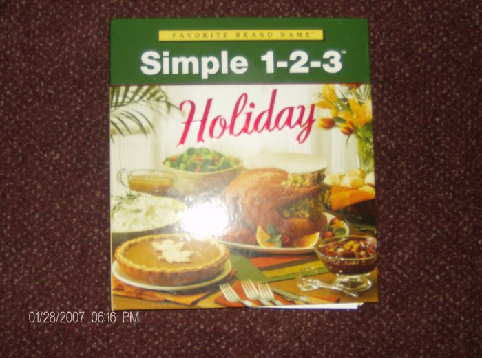 Simple Holiday 1-2-3 by Favorite Brand Name