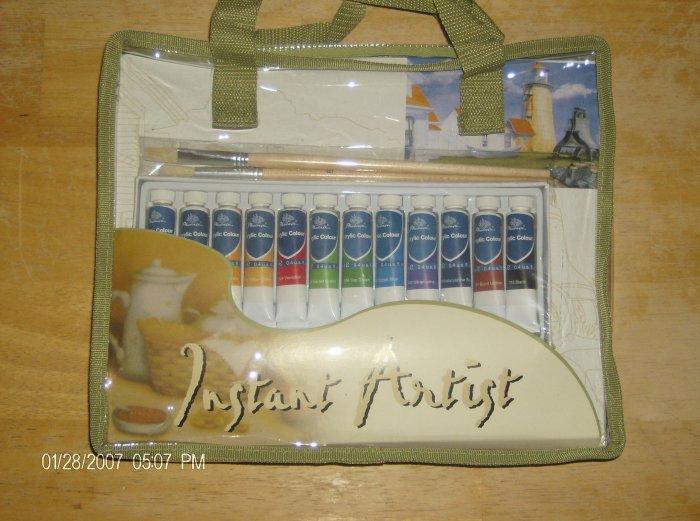 The Instant Artist set