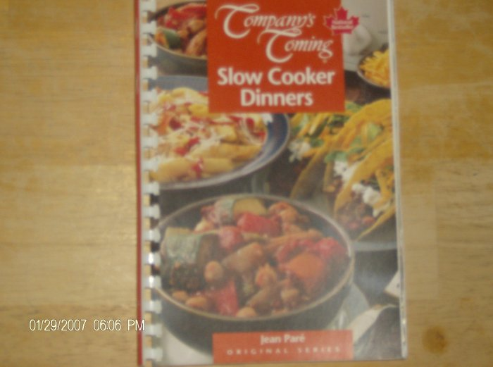 Company's Coming Slow Cooker Dinners