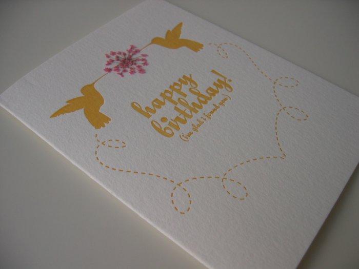 Birthday Buzz (#HB7)