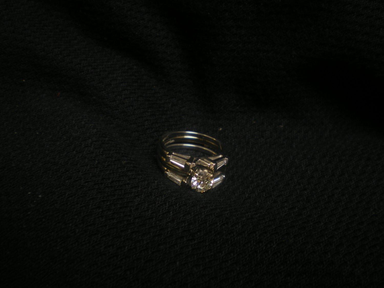 10.5 gram 14 kt. plus plat 3 ring set