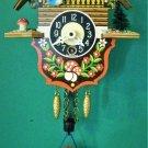 Bouncing Girl wind-up Novelty Clock, Cuckoo Clock shop item