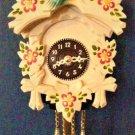 Traditional Colored Bird Novelty Quartz Clock, Cuckoo Clock shop item