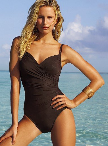 Firm control crisscross shaping one-piece