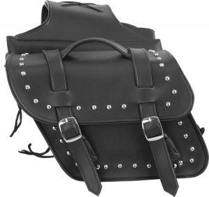 Motorcycle PVC Saddle Studs Bag for Harley Davidson Suzuki Yamaha Honda Kawasaki