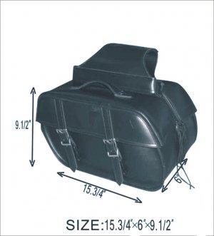 Motorcycle PVC Saddle bag 4057 for Harley Davidson Suzuki Yamaha Honda Kawasaki