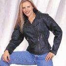 Ladies Jacket w/ Braid, Lining & Gather Sides