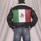 Mexican Flag Jacket Z/O Lining w/ Neck Warmer