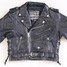Kids Motorcycle Jacket w/ Side Laces