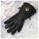 All Leather Glove w/ Concho & Lining