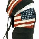 Skull Cap W/ USA Flag