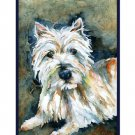 Watercolor West Highland Terrier Cards